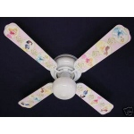 Ceiling Fan Designers Disney Princesses Dancing Ceiling Fan: 42""