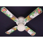 Ceiling Fan Designers Dora the Explorer & Boots Ceiling Fan: 42""