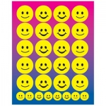 Hygloss Sticker Forms: Smiley Faces, 3 Sheets