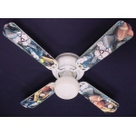 Ceiling Fan Designers Soccer Football Baseball Sports Ceiling Fan: 42""