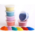 Hygloss Bucket O` Sand: 12 Assrted Colors, 1 lb. Each, No Color Choice