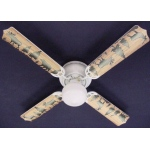 Ceiling Fan Designers Bear Moose Deer Rustic Cabin Lodge Ceiling Fan: 42""