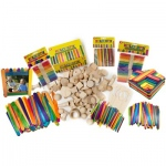 Hygloss Wood Sticks & Shapes Kit