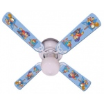 Ceiling Fan Designers Garfield the Cat Kids Boys Sports Balls Ceiling Fan: 42""