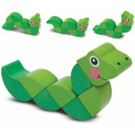 Wiggling Worm Grasping Baby Toy: 6+ Months