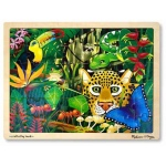 Rainforest Jigsaw Puzzle: 48 Pieces, 3+ Years