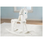 Kidkraft Derby Rocking Horse - White: Heirloom quality