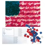 Hygloss Tissue Flag Kit: 30 Flag Kit