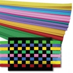 Hygloss Weaving Strips: 100 Bright Weaving Strips