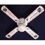 Ceiling Fan Designers NFL Atlanta Falcons Football Ceiling Fan: 42""