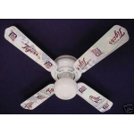 Ceiling Fan Designers MLB Detroit Tigers Baseball Ceiling Fan: 42""