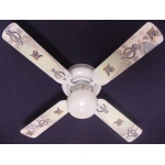 Ceiling Fan Designers MLB Milwaukee Brewers Baseball Ceiling Fan: 42""