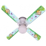 Ceiling Fan Designers Baby Monkey Mischief with Banana Ceiling Fan: 42""