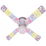 Ceiling Fan Designers Baby Nursery Happy Wings Ceiling Fan: 42""