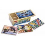 Sea Life Jigsaw Puzzles in A Box: 3+ Years