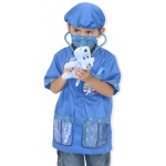 Veterinarian Role Play Costume Set: 3+ Years