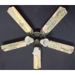 Ceiling Fan Designers Army Tanks Military Helicopter Ceiling Fan: 52""