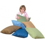 "The Children's Factory Cozy Woodland Color Pillows: 17"", Set of 6, With Poly Fill"