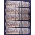 Ceiling Fan Designers Deer Buck Doe Hunting Ceiling Fan Blades: 52""