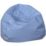 "The Children's Factory 35"" Round Bean Bag: Sky Blue"