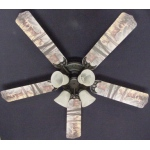 Ceiling Fan Designers Deer Buck Doe Hunting Ceiling Fan: 52""