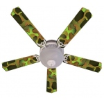 Ceiling Fan Designers Crazy Camo Ceiling Fan: 52""