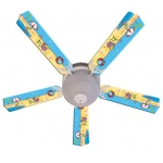 Ceiling Fan Designers Fun In The Sun Ceiling Fan: 52""