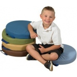 "The Children's Factory 15"" Round Cushions: Set of 5"
