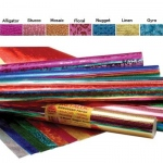 Hygloss Embossed Metallic Rolls: Assorted Designs