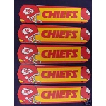 Ceiling Fan Designers NFL Kansas City Chiefs Ceiling Fan Blades: 52""