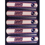 Ceiling Fan Designers NFL New York Giants Ceiling Fan Blades: Football, 52""