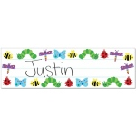 Hygloss Picture Name Plates: 100 Bug Name Plates