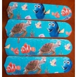 Ceiling Fan Designers Finding Nemo Mouse Ceiling Fan Blades: 42""