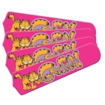 Ceiling Fan Designers Garfield the Cat Kids Girls Ceiling Fan Blades: Pink, 42""