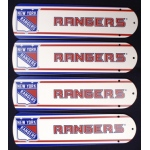 Ceiling Fan Designers NHL New York Rangers Ceiling Fan Blades: 42""
