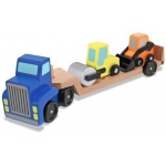 Low Loader Wooden Vehicles Play Set: 3+ Years