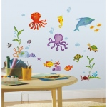 RoomMates Adventures Under the Sea Wall Decals