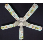 Ceiling Fan Designers Curious George Monkey Ceiling Fan: 52""