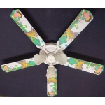 Ceiling Fan Designers Dora the Explorer & Boots Ceiling Fan: 52""