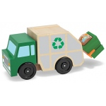 Garbage Truck Wooden Vehicle: 3+ Years