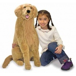 Golden Retriever Giant Dog Stuffed Animal: 3+ Years