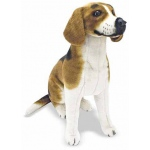 Beagle Dog Giant Stuffed Animal: 3+ Years