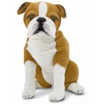 English Bulldog Dog Giant Stuffed Animal: 3+ Years