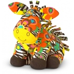 Beeposh Zelda Zebra Stuffed Animal: 2+ Years