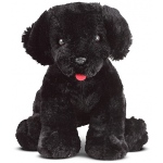 Benson Black Lab Puppy Dog Stuffed Animal: All Ages