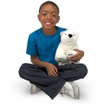 Glacier Polar Bear Cub Stuffed Animal: All Ages