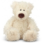 Baby Roscoe Vanilla Teddy Bear Stuffed Animal: All Ages