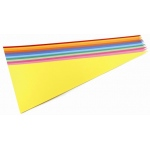 Hygloss Assorted Color Pennants: 24 Colors