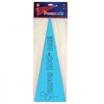 "Hygloss 100 Day Pennants: Assorted Colors, 8.5"" x 23"", 24 Pennants"