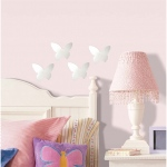 RoomMates Butterfly Peel & Stick Mirrors: Pack of 4